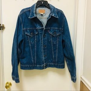 Levi's Jean Jacket USA made 1970's XL